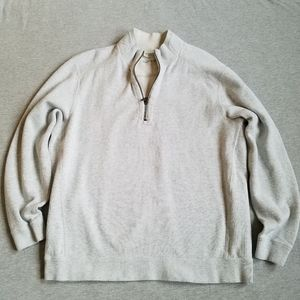 Tommy Bahama reversible 1/4 zip sweatshirt XL